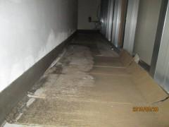 地下外壁からの漏水