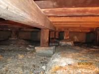 建物調査ー床下