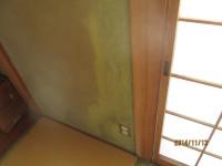 建物調査ー壁雨漏り