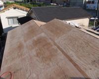 屋根の軽量化ー構造用合板貼
