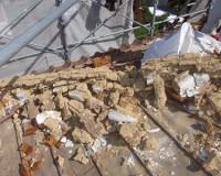 屋根の軽量化ー瓦めくり