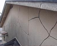 劣化改善ー外壁のひび割れ溝はつり