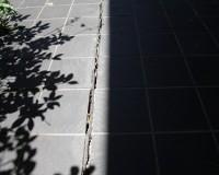 建物調査ー地盤の傾き